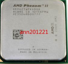 1PC AMD CPU Phenom II X4-960T 3.0GHZ Socket AM3 HD96ZTWFK4DGR