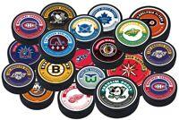 NHL Reverse Retro Rinkside 3D Textured Souvenir Hockey Puck - 17 Teams Available