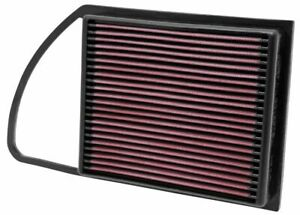 K&N 33-2975 for Peugeot 3008 high performance washable drop in panel air filter