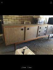 Medium Wood Tone Vintage/Retro Sideboards, Buffets & Trolleys