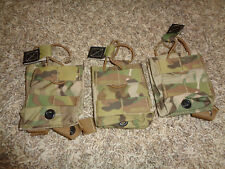 Lot of 3 * ATS Tactical Gear Single SCAR H Pouches * Multicam SOCOM SF NSW SEAL