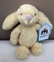 NEW Jellycat Baby Lemon Bashful Bunny Soft Toy Tiny Comforter Yellow BNWT