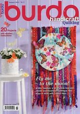 Burda Style Handicraft Quilting Magazine 3 Summer 2015 sewing FLY ME TO THE MOON