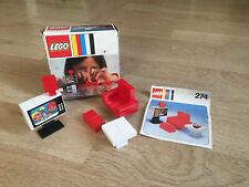 Vintage Boxed Lego Set 274 Inc Instructions 1974 Very Rare