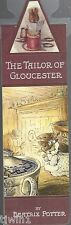 THE TAILOR OF GLOUCESTER A BEATRIX POTTER BOOKMARK COLLECTION MAGNETIC!  NEW!