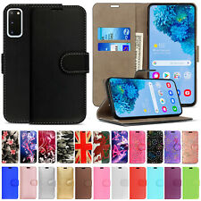 For Samsung S20 FE Note 20 Ultra S10 9 Plus Leather Wallet Flip Phone Case Cover