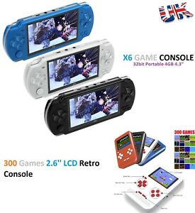 """32 Bit 4.3"""" Handheld Game Console Retro Game Player Classic Sup Game Console UK"""