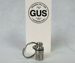 GUS Gold Prospecting Safe Pill Fob Tool Seal Can Keep Safe Gift