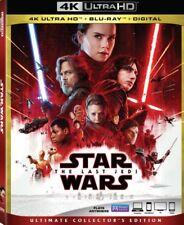 Star Wars - The Last Jedi 4K UHD 4K (used) Blu-ray Only Disc Please Read