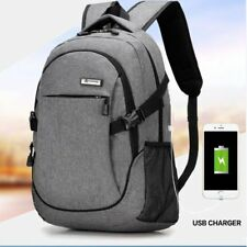 Fashion Camera Laptop Backpack School Travel Outdoor Bags With USB Charger Port