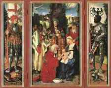 Baldung GRIEN Hans Adoration Of The Magi 5 stampa in A4