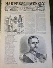 Prince of Wales Cartoon  Real v Ideal Image 1860 Italy King Francesco II  Naples
