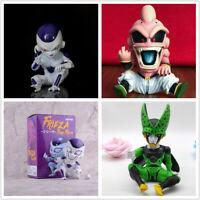 Anime Dragon Ball Z GK Kid Majin Buu Boo CELL Frieza Freeza Figure PVC Toys