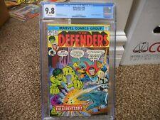Defenders 30 cgc 9.8 Marvel 1975 Valkyrie Hulk Dr Strange cover NM MINT WHITE p