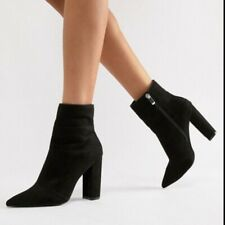 Qupid Suede Pointy Booties