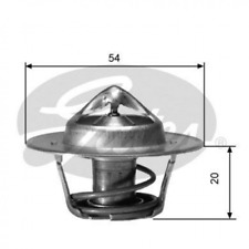 Thermostat, Kühlmittel für Kühlung GATES TH00191G1