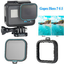 For Gopro Hero 7 6 5 TELESIN CPL Filter Polarizer Camera Lens Glass Protector