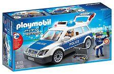 Playmobil Ciry Action 6920- Voiture en Police avec Lumières et Son. de 4 à 10