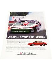 1993 Oldsmobile Cutlass Supreme Nascar  Vintage Advertisement Car Print Ad J407