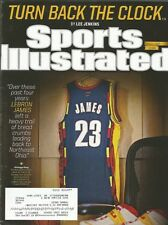 CLEVELAND CAVALIERS LEBRON JAMES 2014 SPORTS ILLUSTRATED 13X ALL STAR CHAMPIONS