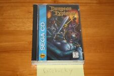 Dungeon Explorer (Sega CD) NEW SEALED, EXCELLENT CONDITION, RARE US RELEASE!