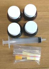 Universal INKJET INK PRINTER REFILL 4 Bottle 20ML Magenta Lexmark Epson HP Canon