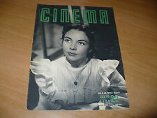 RIVISTA CINEMA NUOVA SERIE N.22 SETTEMBRE 1949 JENNIFER JONES JOSEPH COTTEN