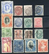 BRITISH TOGA 16 OLD STAMPS LOT, USED & MH, HIGH CATALOG VALUE, VF