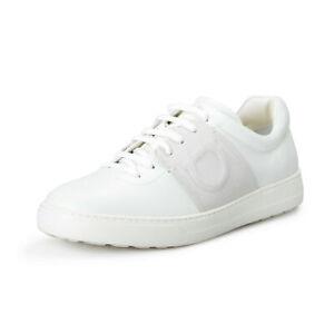 """Salvatore Ferragamo Men's """"CULT"""" Leather Fashion Sneakers Shoes US 9.5M IT 42.5M"""