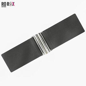 Ro Rox Elasticated Stretch Wide Nurse Belt 1950's Retro Vintage Waist Cincher