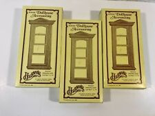 Houseworks Dollhouse Miniatures Tall Working Windows #5030 Lot of 3 NEW