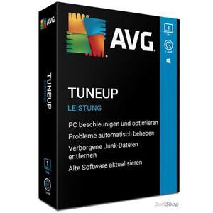 TuneUp Utilities 2021 1 PC, 1-2 Jahre / AVG PC TuneUp (2020) Vollversion Deutsch