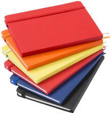 Quaderno Agenda Colorata Con Elastico 96 Pagine Scuola Appunti 21.5x14.5cm dfh