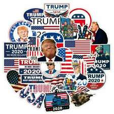 50 Pcs Pro President Trump 2020 Campaign Stickers for Car Bumper/Republican Part
