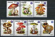 272 - Paraguay - Flora - Muschrooms - Used Set