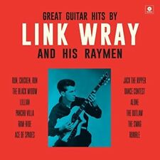 Great Guitar Hits By Link Wray & His Wraymen [New Vinyl LP] Bonus Tracks, 180