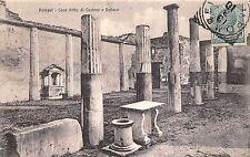 Br35395 Pompei Cassa detta di Castore e Polluce italy