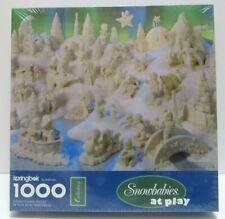 Snowbabies at Play 1000 Piece Puzzle Springbok Hallmark Vintage New Sealed NOS