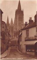 early 1900s photo postcard . st. marys st truro . judges card unused