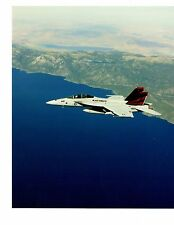 Boeing F18EF Super Hornet VFA154 Navy Fighter Aircraft Photo 8x10 Cdr RW Sanders