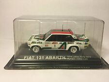 FIAT 131 ABARTH ALEN KIVIMAKI 1000 LAKES RALLY 1979 1/43  J30