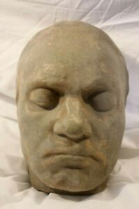 Ludwig Van Beethoven Death Mask Sculpture Bust by Franz Klien Fine Caproni Copy