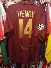 Arsenal Football Shirt Highbury 2005/06 Home XL ~ Henry 14 Champions League