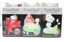 3d Crystal Puzzle Snoopy Woodstock Beverly / Japan