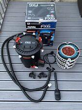 Fluval FX6 External Power Canister Filter + Upgrade Bioholme Ultimate Media