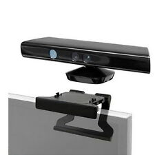 TV Clip Mount Mounting Stand Holder for Microsoft Xbox 360 Kinect Sensor GA