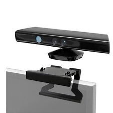 TV Clip Mount Mounting Stand Holder for Microsoft Xbox 360 Kinect Sensor HA