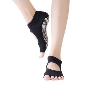 Women Yoga Socks Non Slip Low Cut for Pilates Exercise Multicolor New