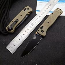 CNC 535 440C Blade Nylon Glass Fiber Handle AXIS Lock Folding Pocket Knife EDC