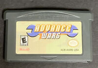 Advance Wars Nintendo Game Boy Advance GBA Cartridge Only Tested